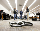 Enhancing drone technology is a popular area of focus for Hack Arizona. (Photo: Amanda Cheromiah)