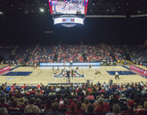 Tenth-ranked Oregon fell to the Wildcats in the UA's 20th victory of the season. (Photo courtesy of Arizona Athletics)