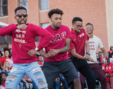 These guys from Kappa Alpha Psi showed that they had all the right moves.