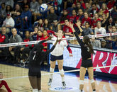 Senior outside hitter Madi Kingdon has been named one of 10 finalists for the Senior CLASS Award, given annually to the sport's top senior both on and off the court. The winner will be named Dec. 8. (Photo courtesy of Arizona Athletics)