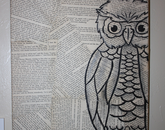 """The Story of An Owl"" by Sarah Burke"