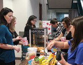 Between the popcorn, candy and raffle sales, the Financial Services Office raised $617.50. The proceeds from the sale went to the Arizona Assurance Scholarship Program, which provides academic, financial and social support to low-income Arizona residents.