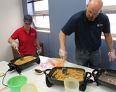 The Budget Office held its 17th Annual UA Cares Chorizo Breakfast and Drawing, raising $2,311 with proceeds going to the Community Food Bank.