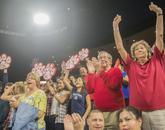 Fans cheer on their Arizona Wildcats. (Photo courtesy of Arizona Athletics)