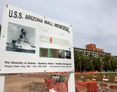 The USS Arizona Mall Memorial is scheduled to be completed by Dec. 4, when a special dedication will be held.