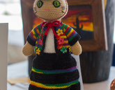 """Sisa the Quechua Doll"" by Varvara Zemskova, an immediate family member of an employee, first-place winner in the amateur category"