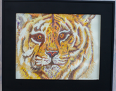"""Tiger"" by Norma Trujillo, an immediate family member of an employee"