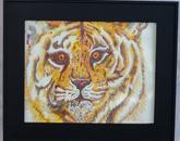 """Tiger"" by Norma Trujillo, an immediate family member of an employee"