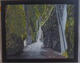 """""""Oneanta Gorge"""" by Kay Ross, director of graduate programs and academic affairs in the Department of Finance"""