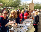 In addition to food, the UA campus community donated napkins and utensils.