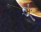 Pioneer 10 was the first spacecraft to encounter Jupiter, and UA scientists were part of the team responsible for monitoring commands that went out to the spacecraft and for analyzing its data. UA researchers also worked on Pioneer 11, which arrived in 1974, the year after the first spacecraft. When Pioneer 11 reached Saturn, it was the first time scientists saw the F-ring on the planet.