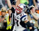 Gronkowski also played for the Patriots in the Super Bowl XLVI.