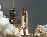 STS-85 was launched in 1997. The GLO-5 and GLO-6 experiments aboard the Space Shuttle gathered new data about the Earth's atmosphere, which UA Lunar and Planetary Laboratory scientists helped to evaluate.