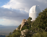 Founded by UA professors Tom Gehrels and Robert S. McMillan in 1980, Spacewatch explores various populations of small objects in the solar system. The team also studies asteroids and comets to better understand how the solar system evolved over time, and identifies potential targets for interplanetary spacecraft missions, among other tasks.