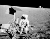 After the Ranger program came Surveyor I, which was designed for a soft landing on the moon in 1967. The mission indicated that the moon's surface was firm enough to withstand a spacecraft upon landing. The UA team was responsible for the cameras aboard the craft.