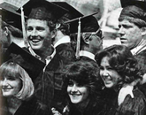 Setting out on their lives beyond campus, new UA grads pose for images in the 1985 yearbook.