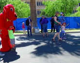 Kids Korner provided family-friendly activities throughout Spring Fling.