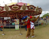 Spring Fling had dozens of rides, and also booths and other activities.