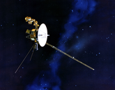 UA researchers Bill Sandel, Lyle Broadfoot and Jay Holberg were among those to work on the Voyager 1 and Voyager 2 missions. Each spacecraft was launched in 1977 for encounters with Jupiter, Saturn, Uranus and Neptune, leading to several important discoveries.