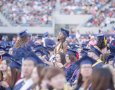 About 4,000 students attended the UA's 153rd Commencement ceremony on May 12.