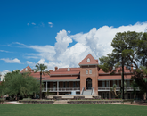 Some have said that UA's Old Main was green before it was cool. The building's sustainability features include shady porches that have protected its core.