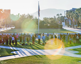 Native American Student Affairs welcomed UA students, faculty and staff to the annual Sunrise Ceremony on the west end of the UA Mall.