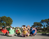 One of the nation's largest homecoming processions, the parade is also a major Tucson event, drawing thousands of fans and families from the community.
