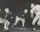 The Arizona football team took Idaho 13-6 in a home game during the 1951 season.