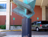 """Courage,"" by Gary Slater, is at the Arizona Cancer Center. (Photo courtesy of the UA Museum of Art)"