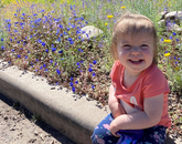 Here is a photo of my daughter, who I get to spend more time with now. Her name is Irene Tenen and she is 20 months old. – David Tenen, human resources specialist in the Division of Human Resources
