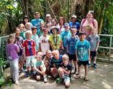 Campers had a chance to tour Biosphere 2 and meet with staff. (Photo courtesy of Flandrau Science Center and Planetarium)