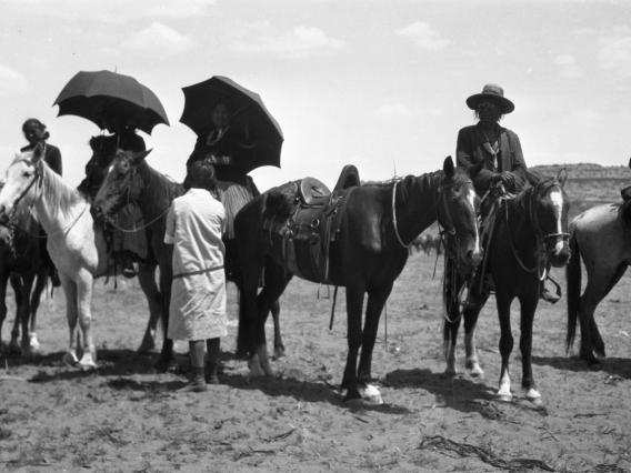 This photograph from the Wetherill collection was likely taken between 1915 and 1930, and is one of more than a half-million images being preserved by curators at the Arizona State Museum.