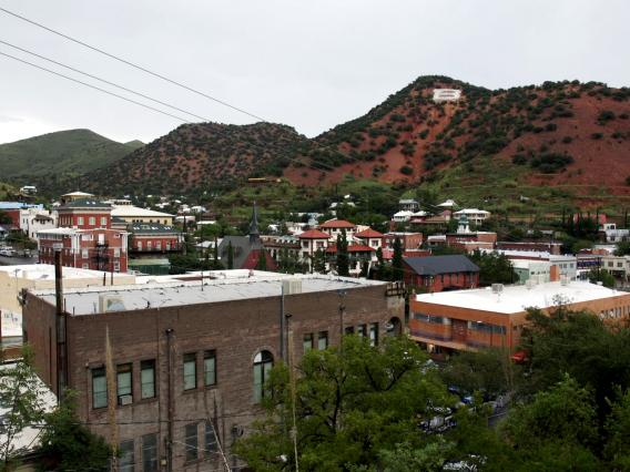 With many of its houses built on uneven, rocky foundations, the southern Arizona city of Bisbee is a haven for kissing bugs, which pose serious public health concerns.