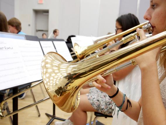 Student musicians have been tutored by some of the best in jazz at this week's Great Western Jazz Camp.