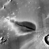 Volcanic deposits at the the Cerberus Fossae system on Mars