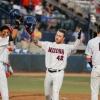 University of Arizona baseball player Ryan Holgate