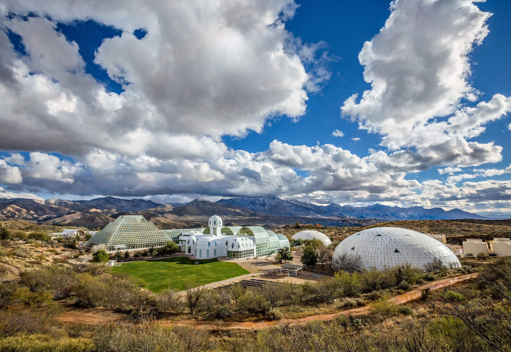 Biosphere2 from above