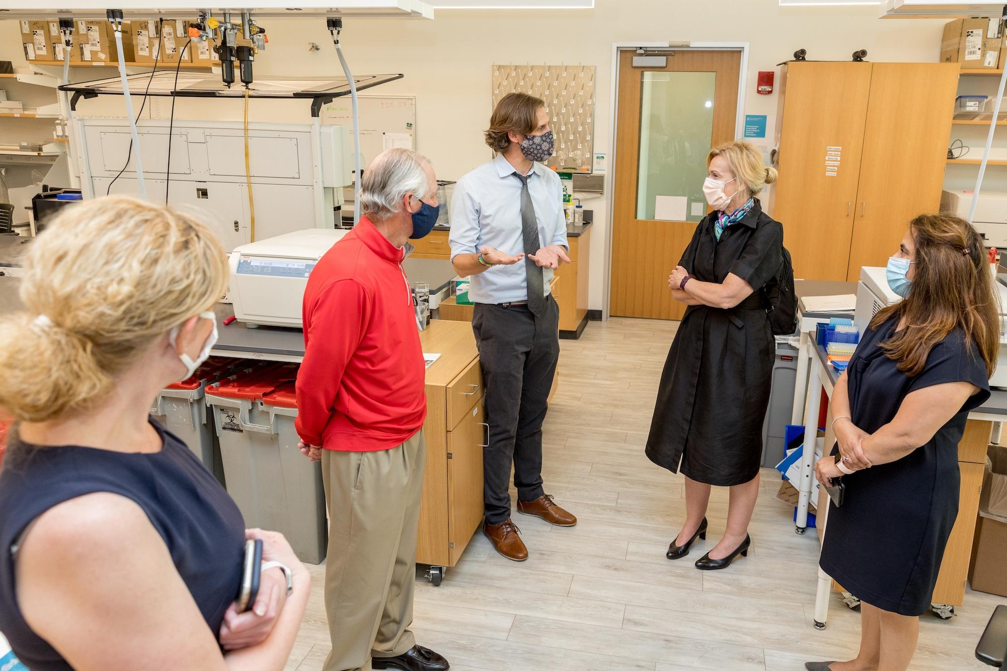 Deborah Birx visiting campus