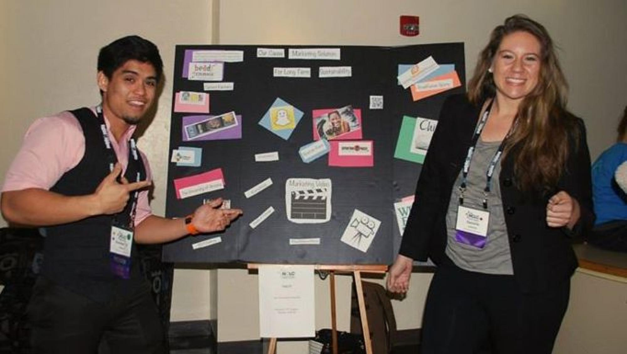 To ensure that students gain practical leadership experience, they are engaged in service opportunities during the conference.