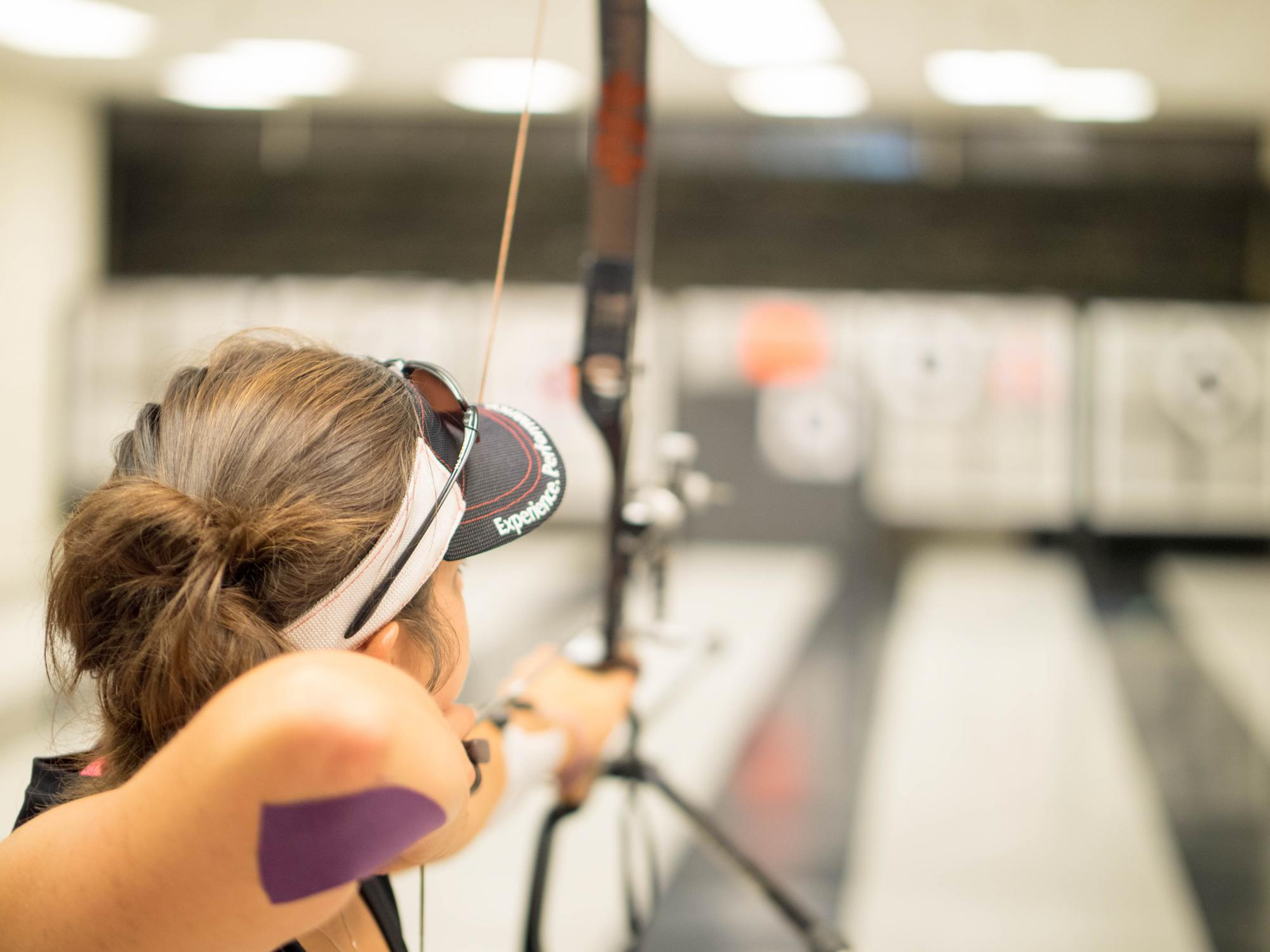 Katie Alexander, who is studying business administration, is secretary of Wildcat Archery, the UA student-led club.