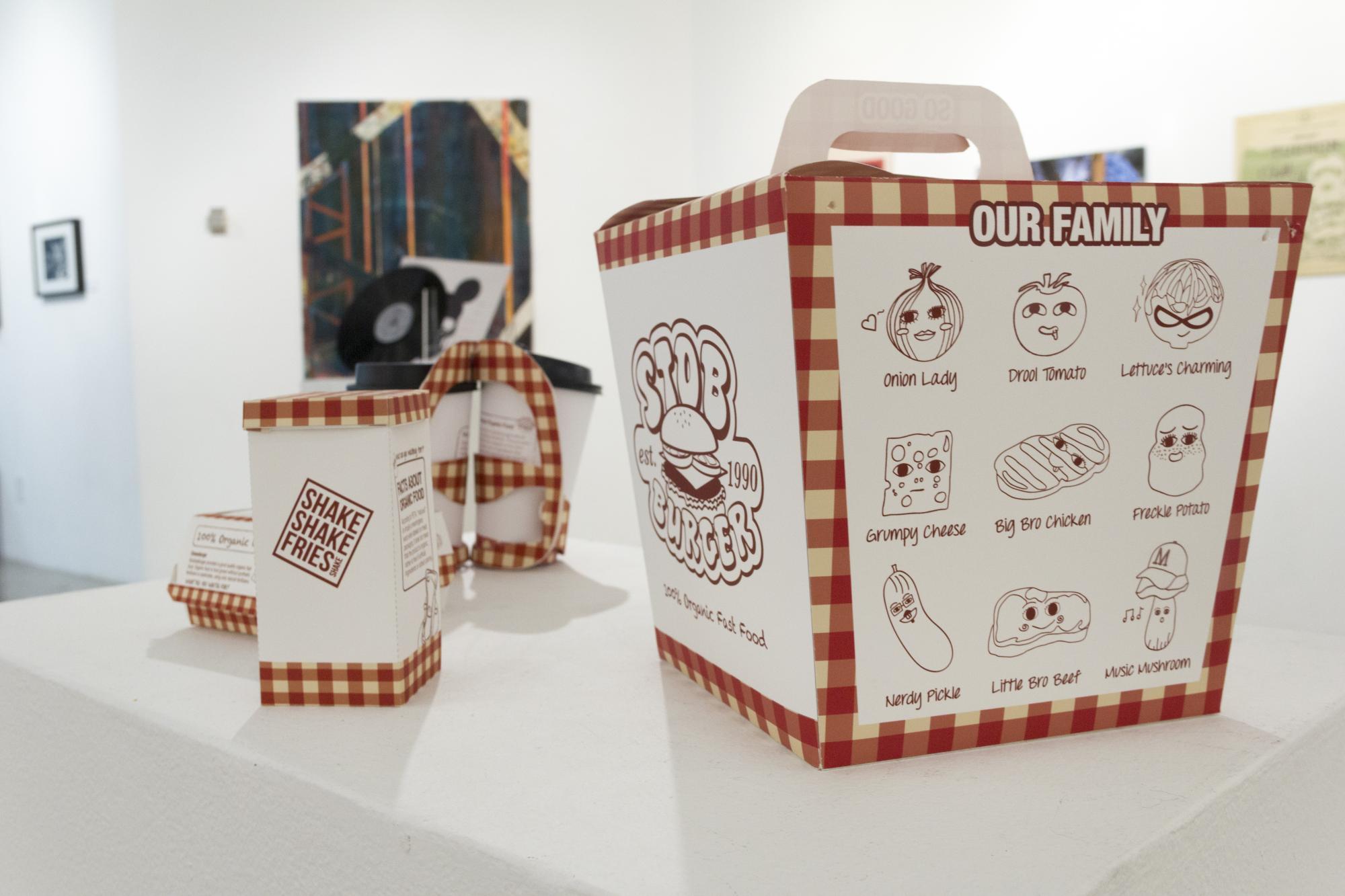 """""""Stobburger Packaging"""" by Yuen Ping Sze, a studio art graduate."""