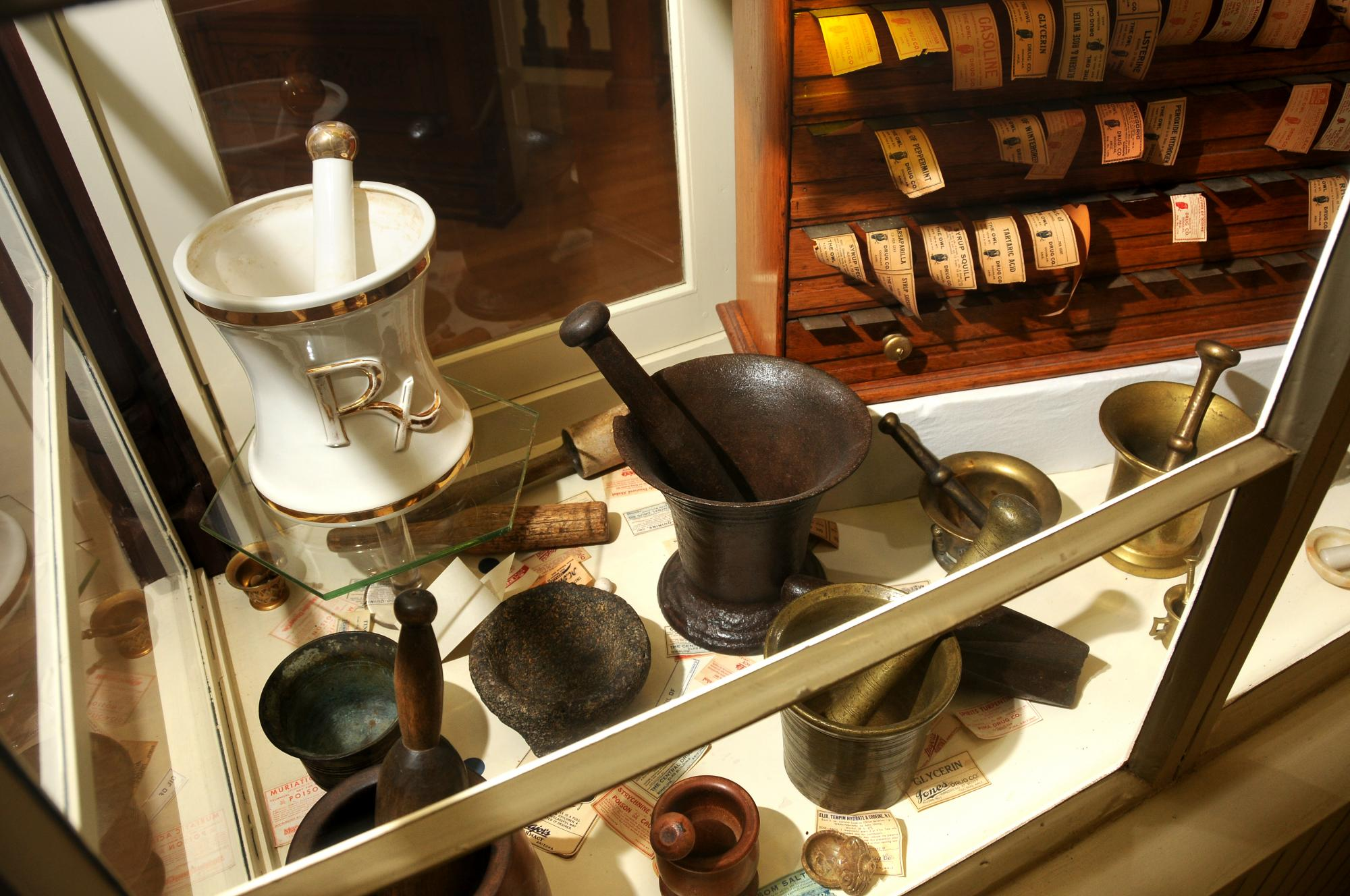 It is the 50-year anniversary of the History of Pharmacy Museum, which opened in 1966. Split between the College of Pharmacy and the Roy P. Drachman Hall, the museum includes original drug containers, books, store fixtures and other artifacts dating back