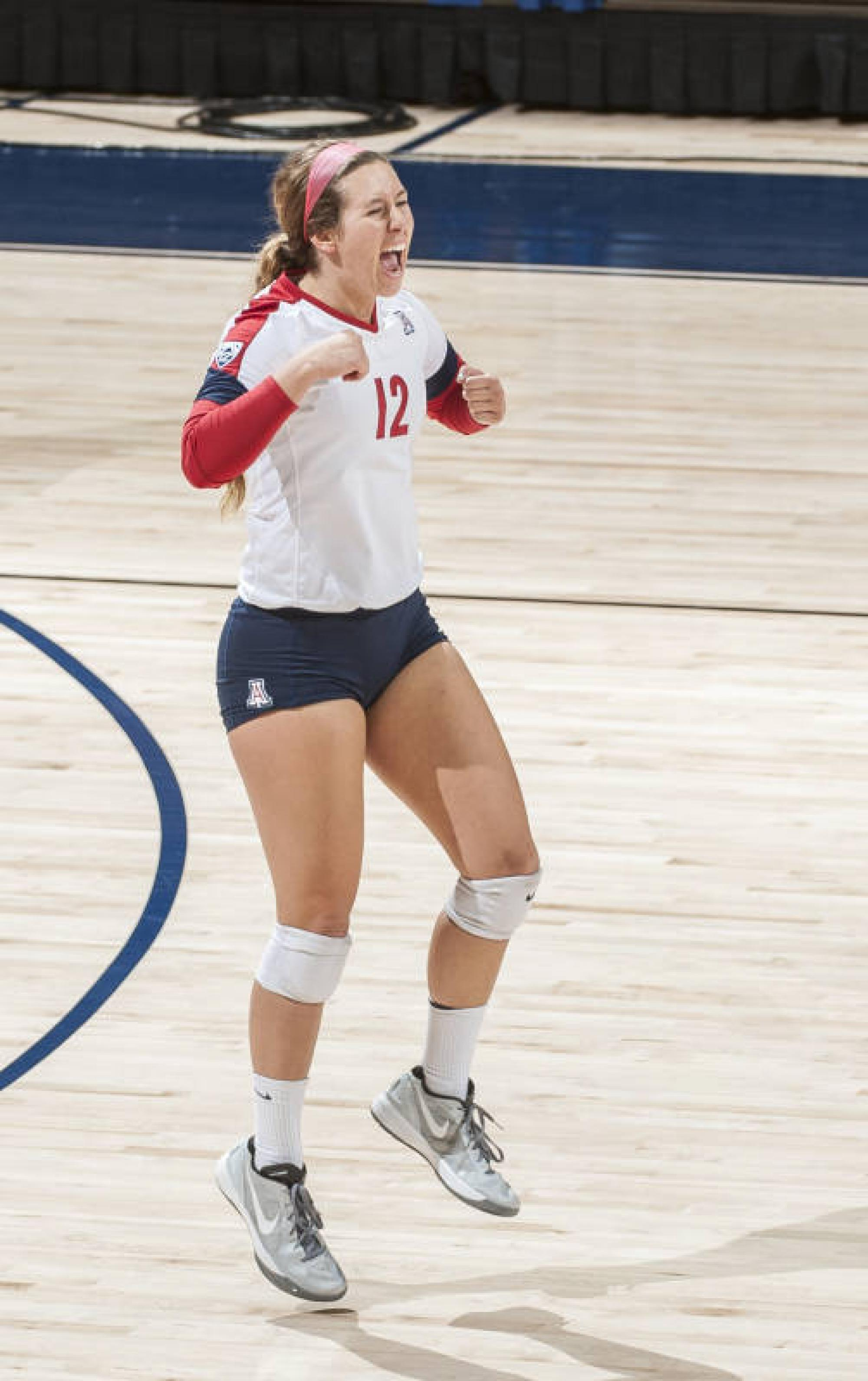 Kennedy Wesley transfered to the UA specifically to complete her collegiate career as a Wildcat.