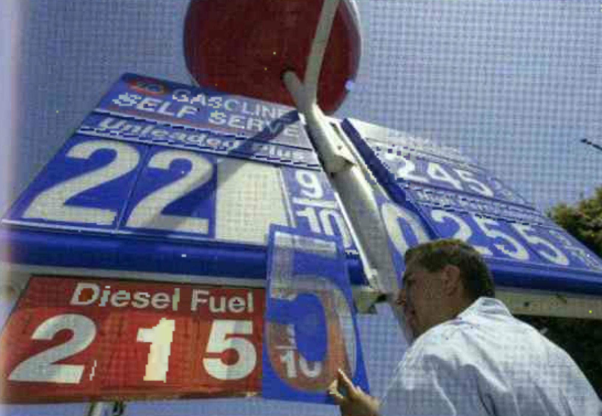 The price of gas in 2004? Below $2.30.