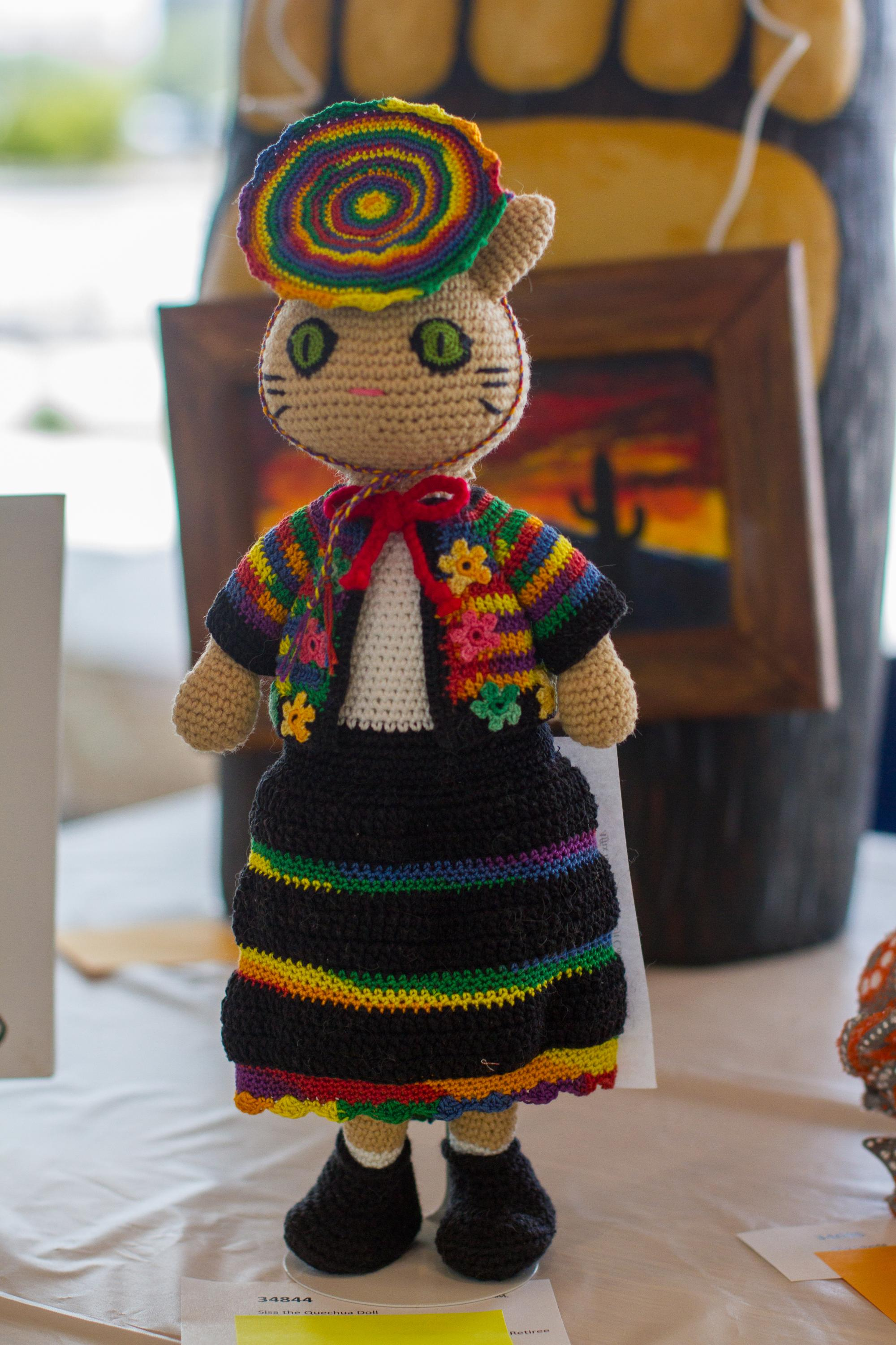 """""""Sisa the Quechua Doll"""" by Varvara Zemskova, an immediate family member of an employee, first-place winner in the amateur category"""