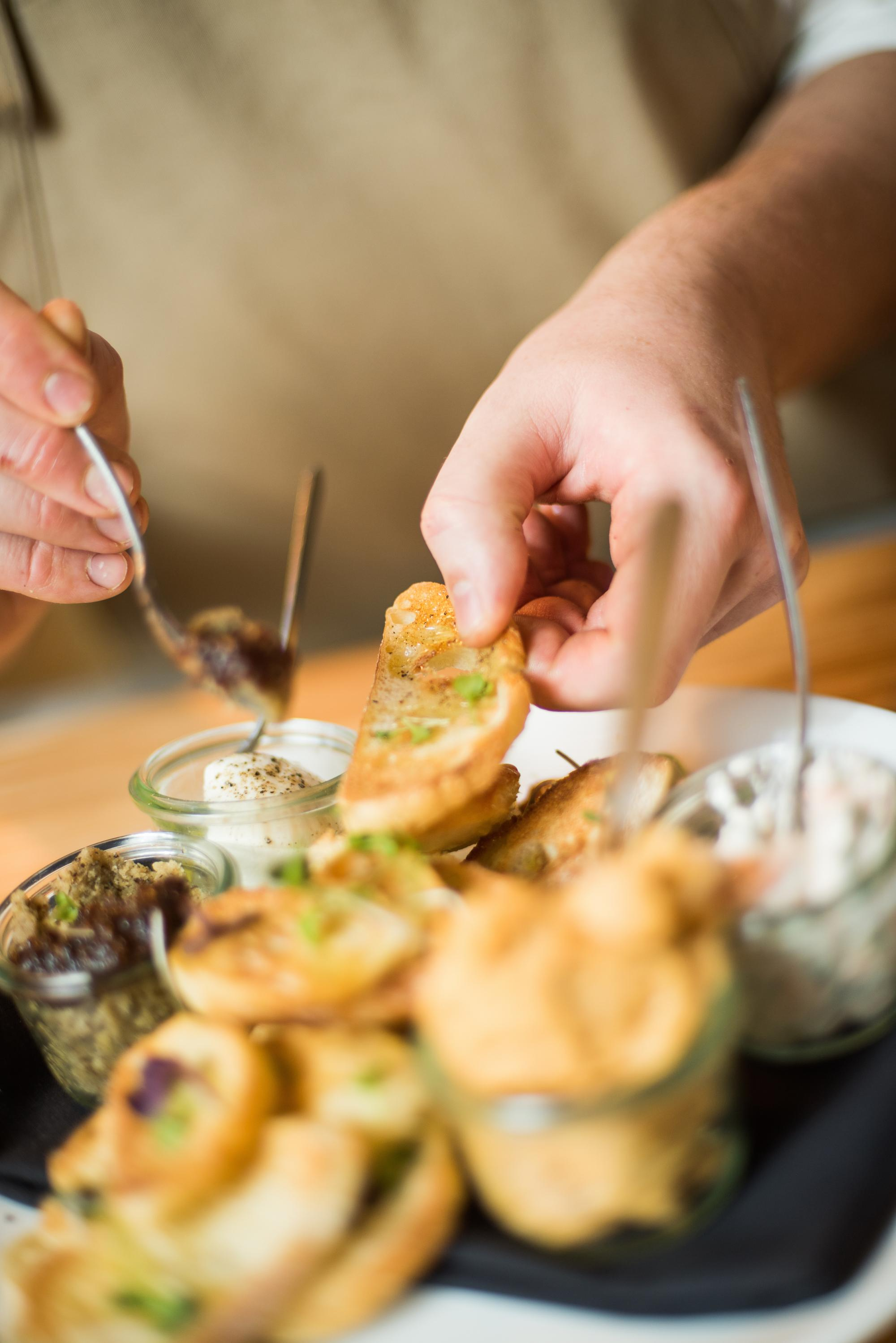 AgustÍn Kitchen specializes in farm-to-table cuisine.