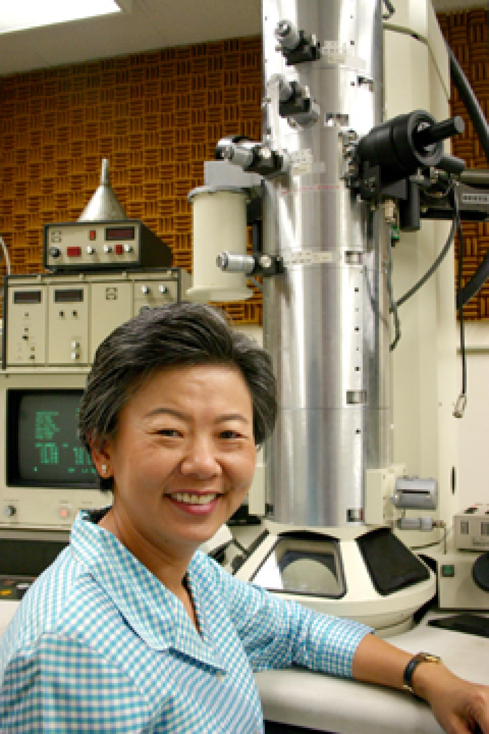 Supapan Seraphin, a professor of material science and engineering, optical sciences and biosystems engineering, mentors Thai women to help them move into the science ranks.