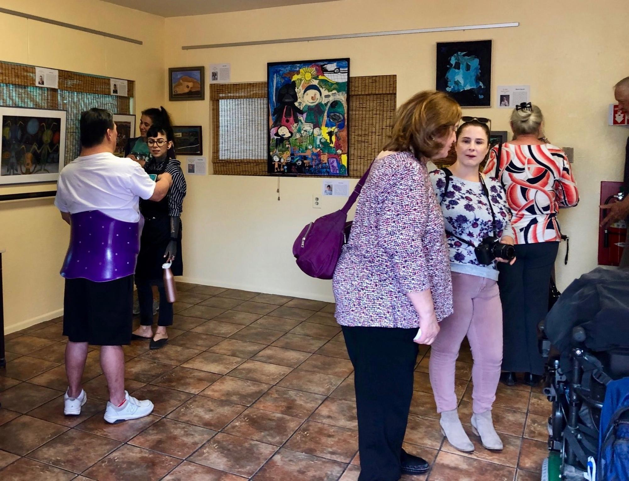 "The exhibit ""Dreams"" is on display at ArtWorks' Mary T. Paulin Gallery, 1509 E. Helen St., through July 26."