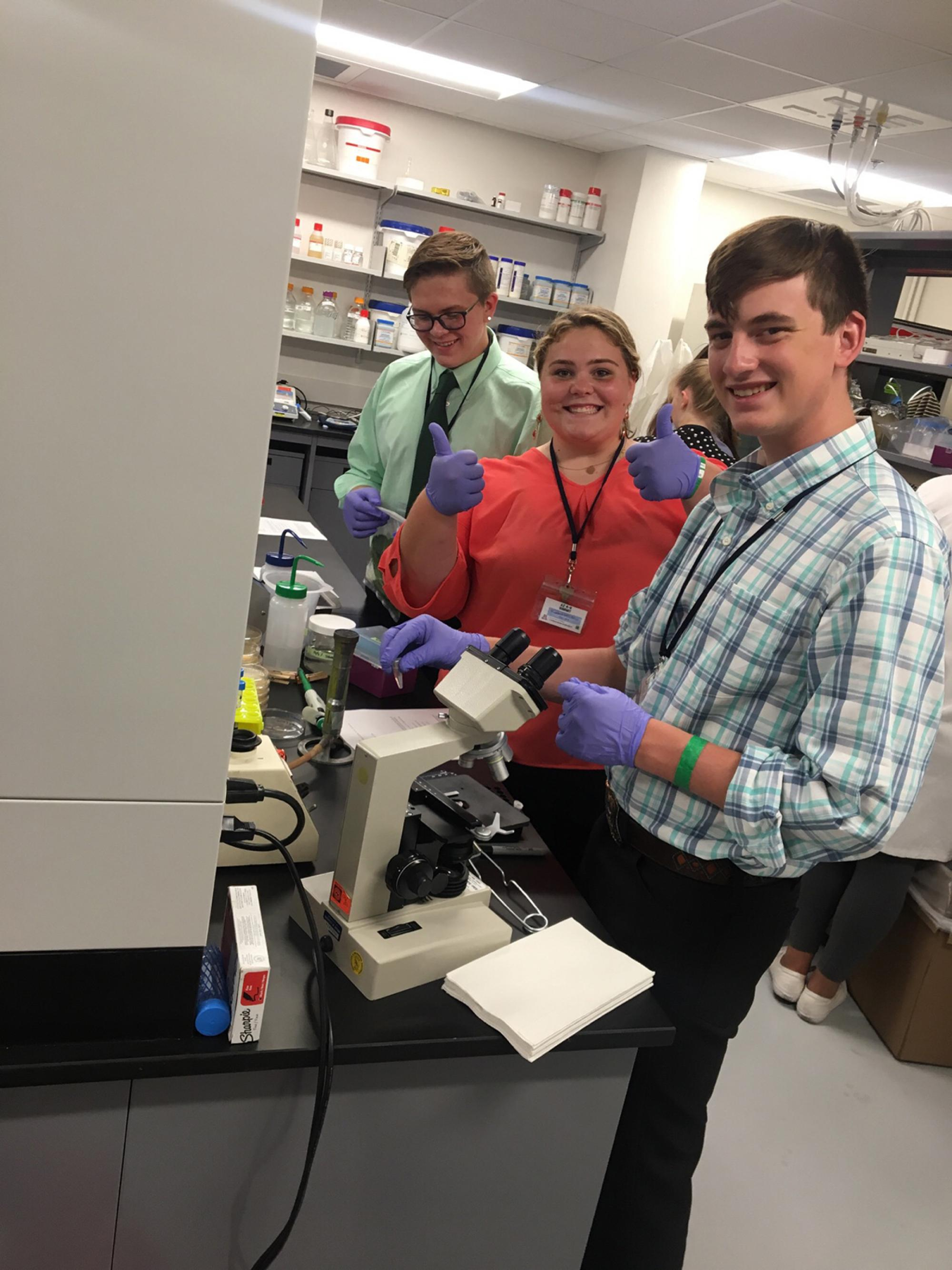 4-H members had the opportunity to learn about educational opportunities and careers in the medical field.