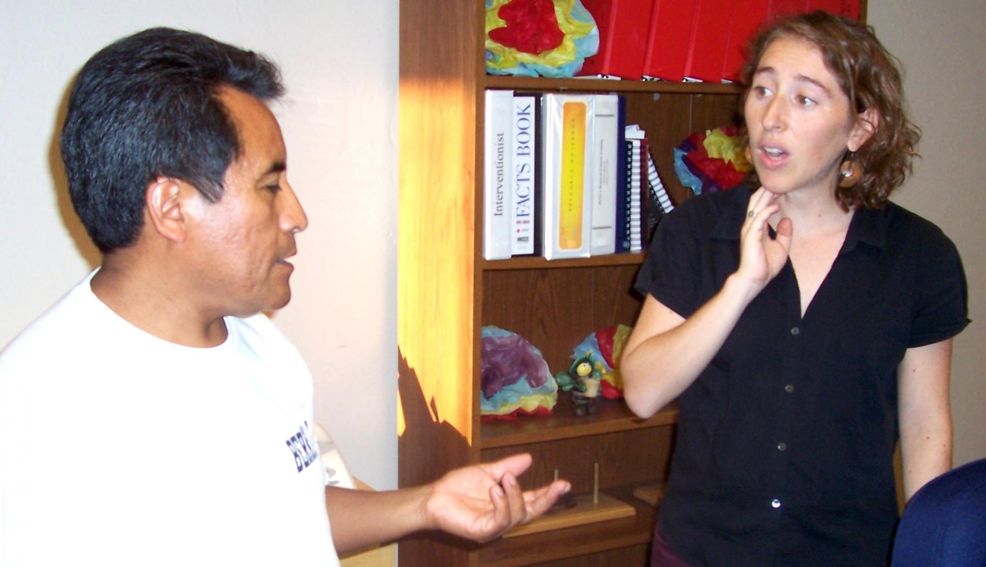 Sebastian Quinac and Nina Rabin